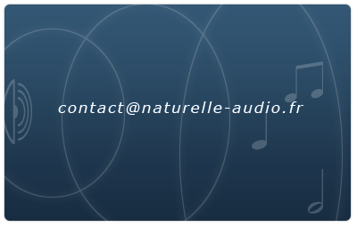 contact at naturelle-audio point fr